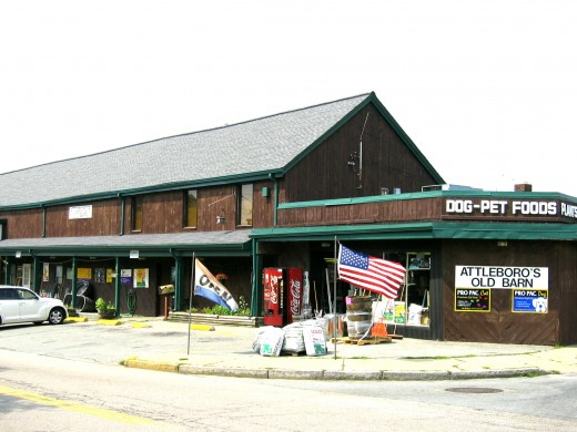 This was our feed & grain store before the building was razed for an urban renewal project.