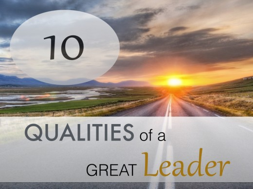 10 Great Leadership Characteristics