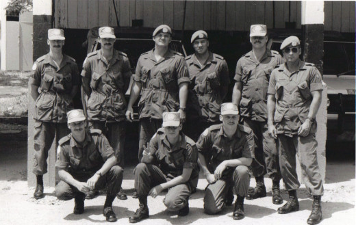 My section of Recce Platoon  Cyprus 1991
