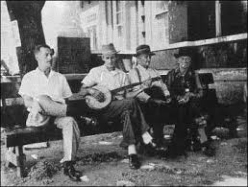 Early hill country musicians paving the way for today's Blue grass music style