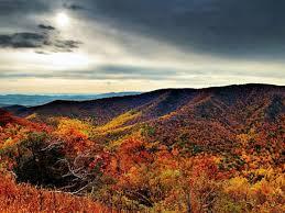 Blue Ride Mountain Range
