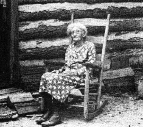 Jean Wallace, a mountain legend. She claims to be a seer of the future