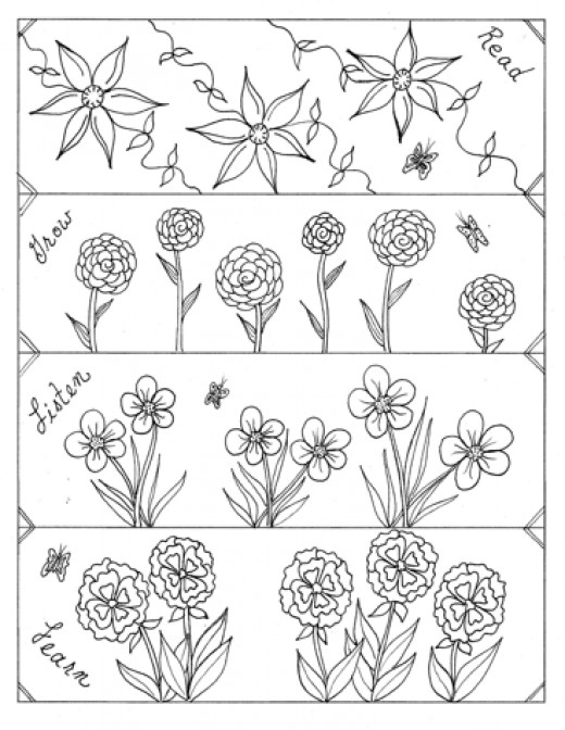 Fun Stuff Category!  Inspire reading with bookmarks students can color. These can be downloaded.
