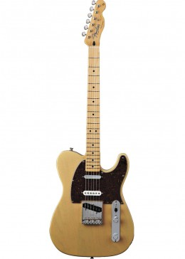 The Fender Telecaster is high on the list of best guitars for country music.