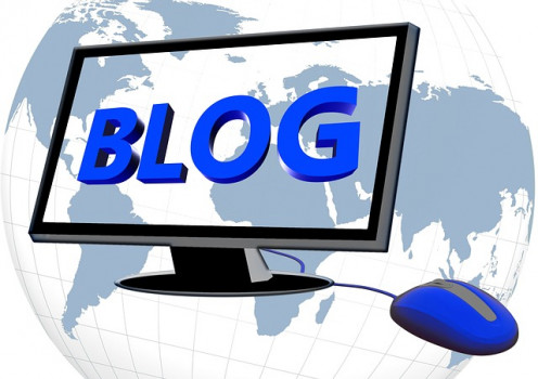 Blogging can be a good gateway to other activities