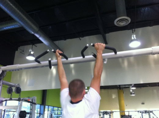 Pull-ups can offer a somewhat different workout depending on the grip you use.