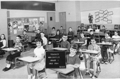 A classroom in 1963 - 1st Grade