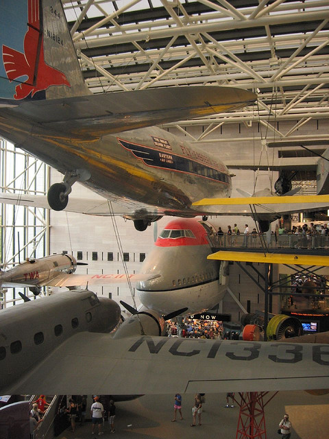 National Air and Space Museum (NASM)  holds the largest collection of historic aircraft and spacecraft in the world
