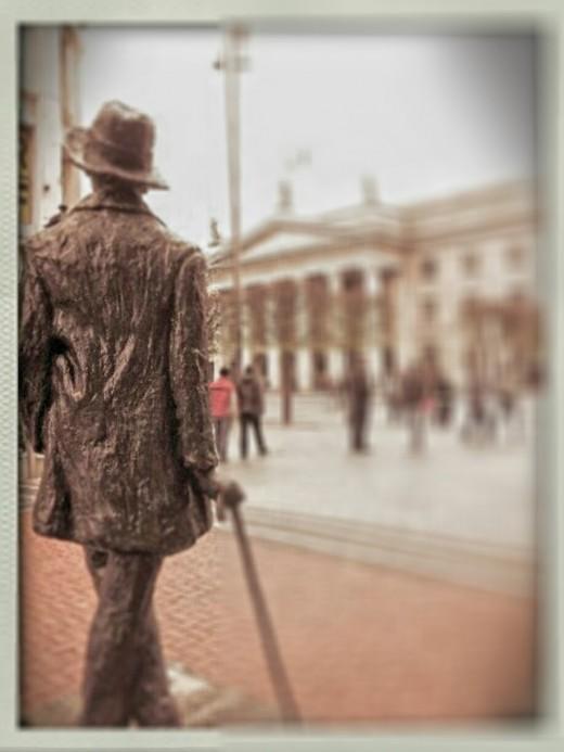 Just shoot a photo, Dublin, Ireland, Smartphone photography diary, how to, tricks and tips, James Joyce