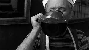 Actor and comedian, Bill Murray, loves coffee so much, he has it from the glass bowl