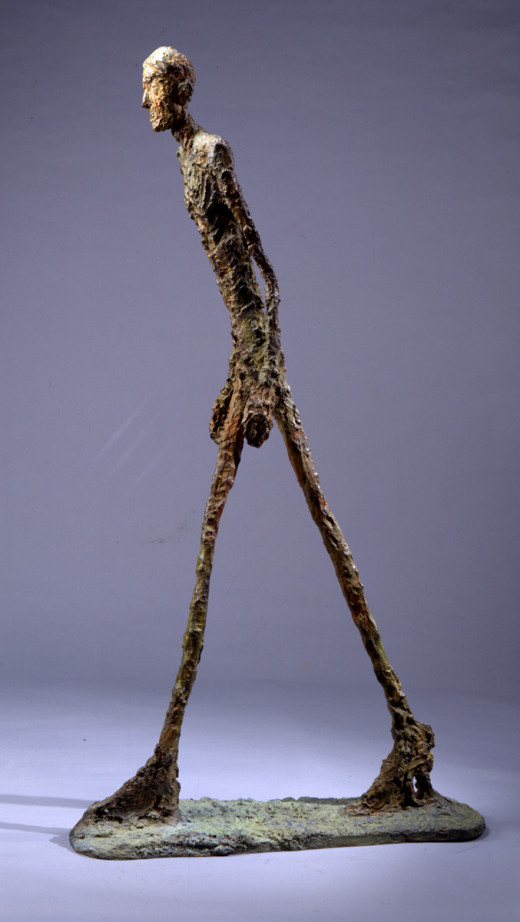 "maryckhayes.wordpress.com / Giacometti's ""Walking Man,""1960"