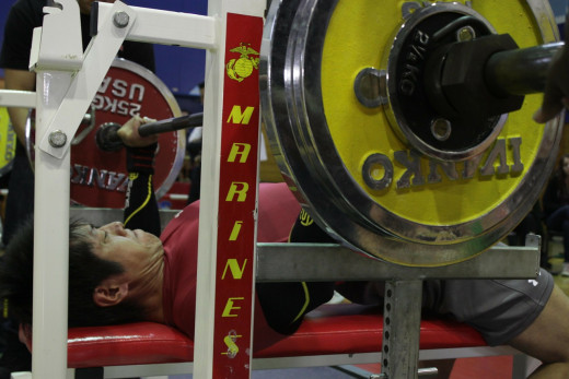 Bench press - one of the best compound exercises!