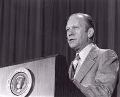Former President Ford delivers speech