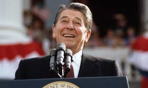 Former President Reagan talks about taxes