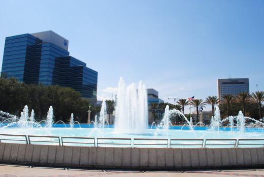 Located in St. Johns River Park (also known as Friendship Fountain Park), the Friendship Fountain was the largest and tallest fountain in the world when it opened in 1965.  The water feature was designed by Jacksonville architect Taylor Hardwick.
