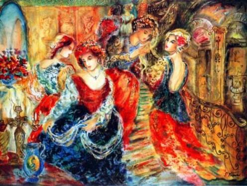 """James A Watkins' art """"Shadows of Love"""""""