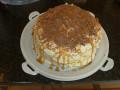 Salted Caramel Macchiato Cake