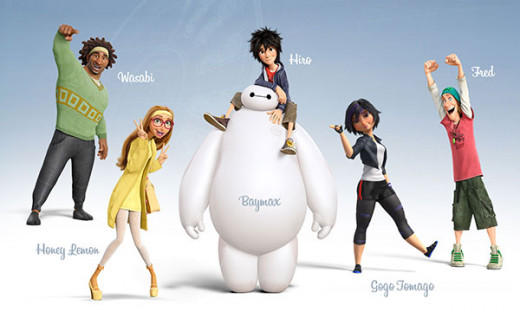 Big Hero 6 Main Characters