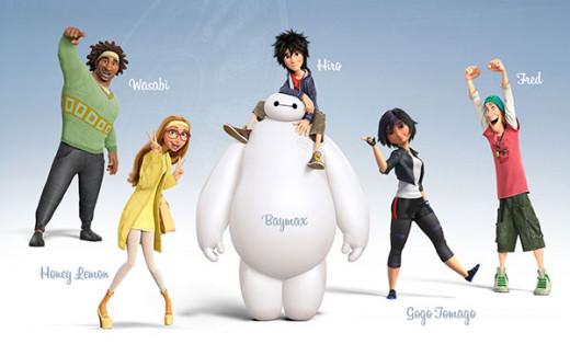 Big Hero 6 Main Characters