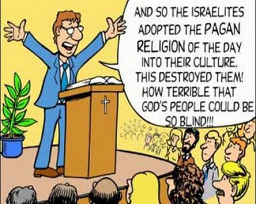 The irony of Christianity.