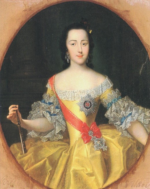 Yekaterina Alexeevna, known in English as Catherine the Great
