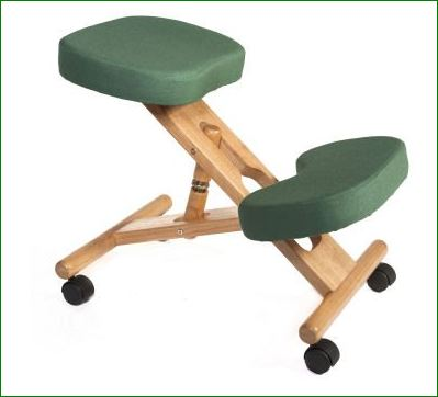 l will probably go with the green kneeling chair.