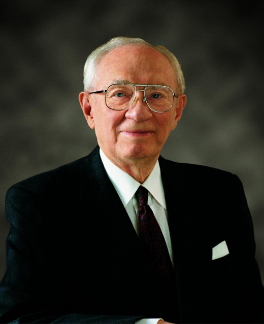 """The Family: A Proclamation to the World""  was read by Gordon B. Hinckley, then president of the Church of Jesus Christ of Latter-day Saints, in September 1995 at a general women's meeting of the church."