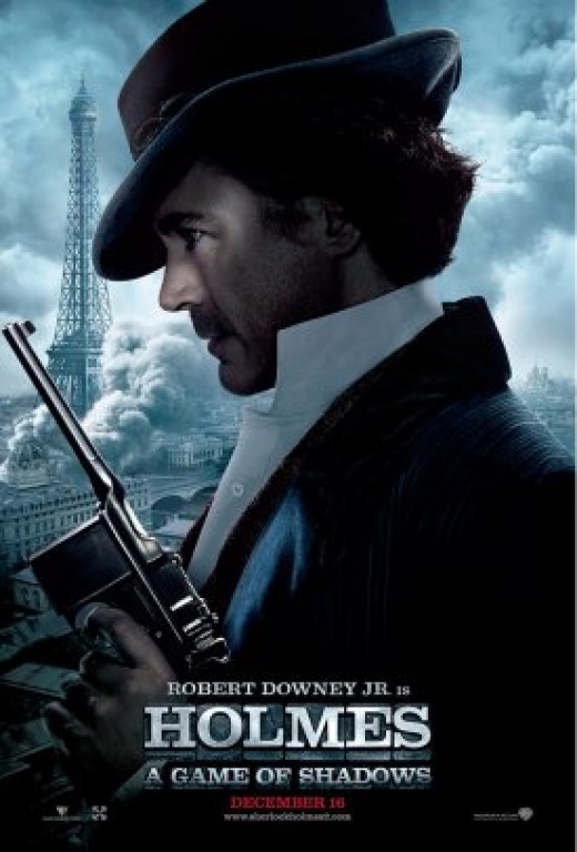 """Sherlock Holmes: A Game of Shadows"" made several mistakes with the weaponry its characters used."