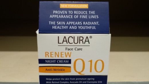 Aldi Lacura Face Care Q10 Renew Anti-Wrinkle Night Cream