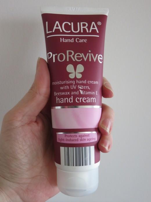 Aldi Lacura Hand Care ProRevive Hand Cream