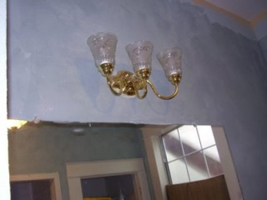 Venetian Plaster in Our Bathroom