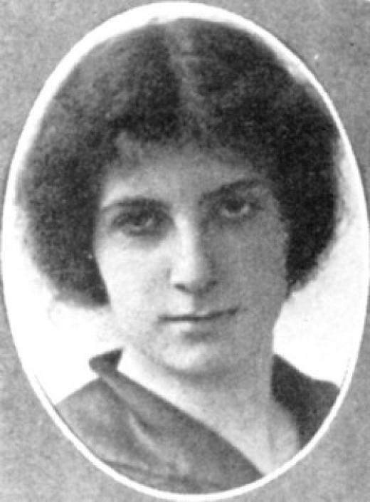 Golda Meir, age 16