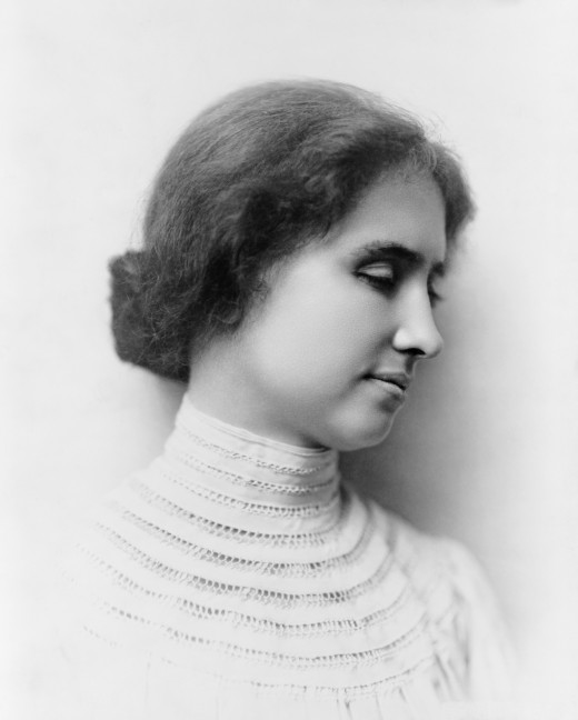 Hellen Keller faced almost unimaginable handicaps , but she refused to allow them to hold her back.