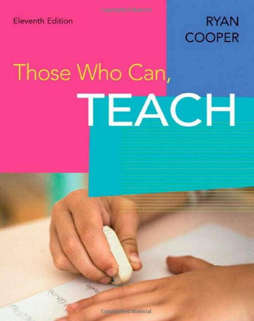 """""""Those Who Teach, Can"""" by Ryan Cooper"""