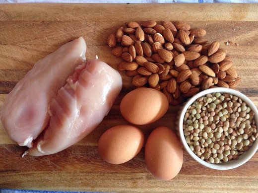 Lean, mean protein-rich food!