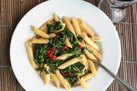 Fortified wheat pasta