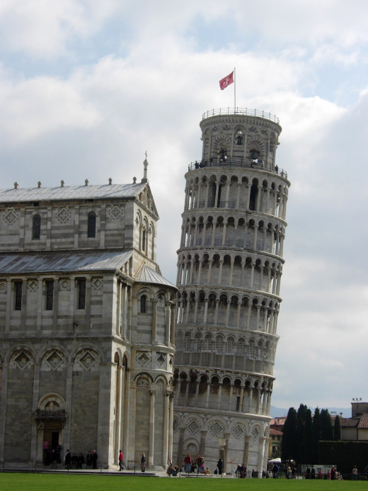 The architectural mistakes that resulted in the Leaning Tower of Pisa did work out nicely for Italy's tourist industry.