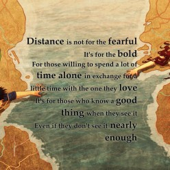 Love Lost & Love Found in a Long Distance Relationship