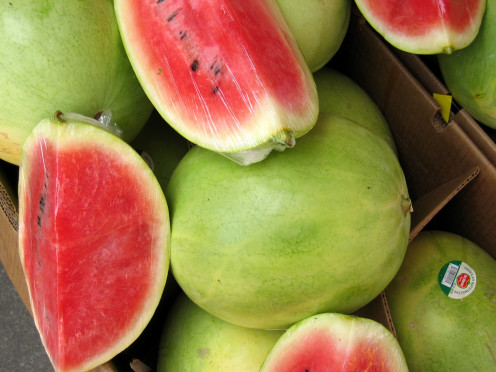 Watermelon might be a good representation of LOVE - It might be the biggest fruit!