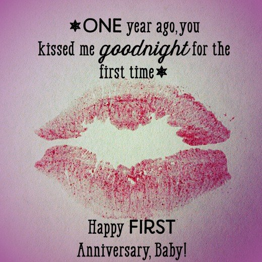 Happy Anniversary To A Beautiful Couple Quotes: First Anniversary Quotes And Messages For Him And Her