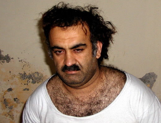 9/11 Mastermind Khalid Shaikh Mohammad after his capture.