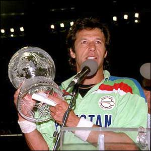 Pakistan won 1992 Cricket World Cup