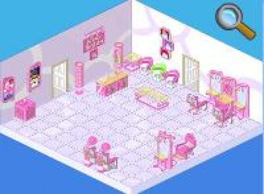 Make your Webkinz their very own salon!