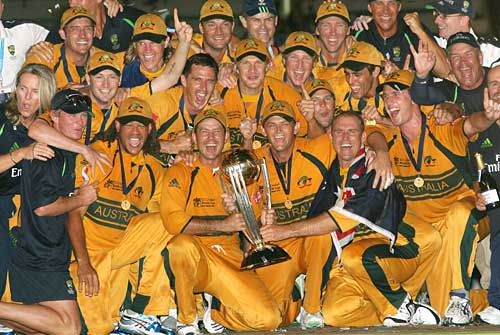 Australia-Winners of the Cricket World Cup 2007