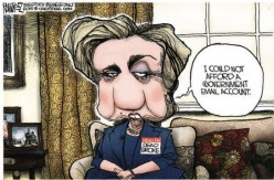 How many years do you think it will take for us to get a look at Hillary's deleted emails?