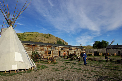 Fort Whoop Up, Lethbridge, Alberta