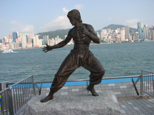 Bruce Lee is revered around the world by martial artists and movie fans alike.