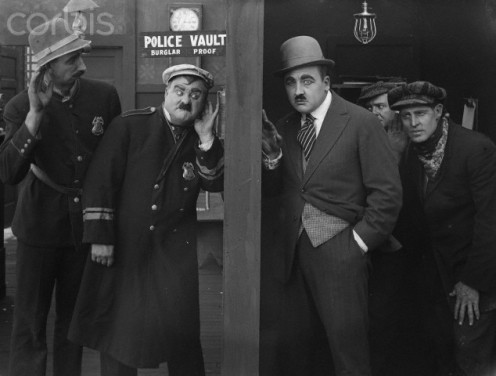The famous Keystone Cops