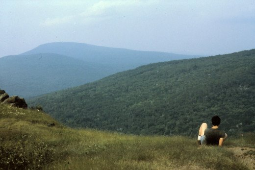 For 3 and 1/2 days we hiked through some pretty country in New Hampshire.