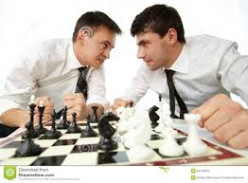 """Some meetings between a boyfriend and an """"ex"""" can be described as a chess match"""